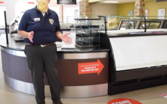 Dave Brinegar explains dining policies in the video from the E&H Dining Services.