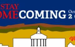 A graphic advertising E&Hs 2020 virtual homecoming events.