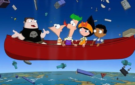 Buford, Phineas. Ferb, Isabella, and Baljeet are in the middle of a life or death situation determining what to do.