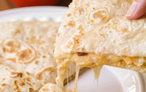 Cook up your very own makeshift Stingers quesadilla.  https://lilluna.com/chicken-quesadillas/