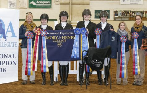 The equine team is all smiles after they  won another national title in 2018.