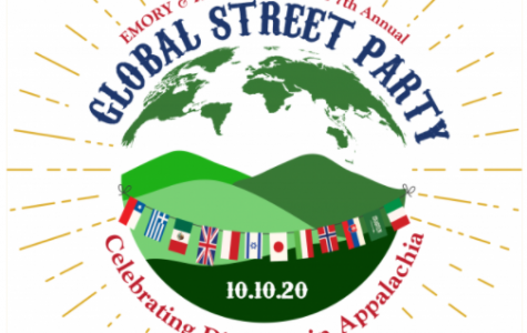 The official logo for the Seventh Annual Global Street Party at Emory & Henry College; photo courtesy of E&H's website.