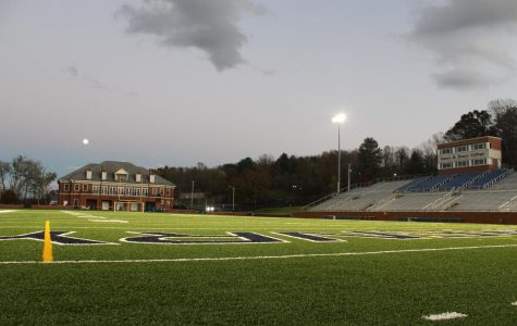 A once fan packed Fred-Selfe Stadium now stands empty due to ODAC postponing all fall and winter sports in light of the pandemic.