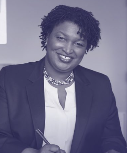 Representative Stacey Abrams of Georgia; photo courtesy of staceyabrams.com.