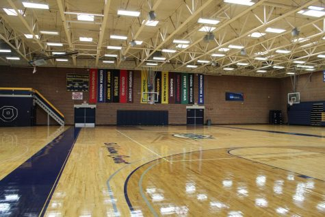 Action will soon return to King Center Gymnasium