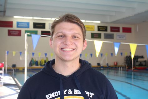 E&H Swimmer Blake Madaris Finds Balance