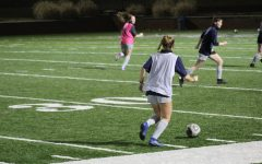 The Emory & Henry Women's soccer team is shown practicing. Both Men's and Women's soccer teams have returned to the field as their season begins despite COVID-19.