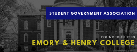 The logo for the Emory & Henry College Student Government Association.