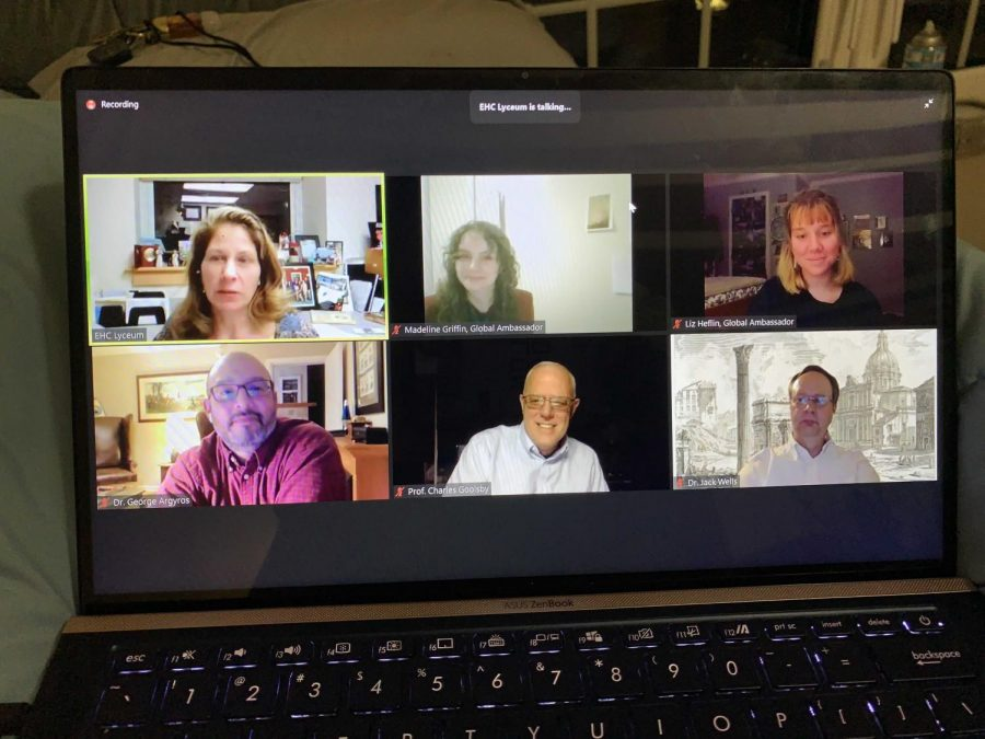 The study abroad lyceum was available to students online through Zoom to share information on study abroad opportunities E&H students have.