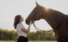 Smith, a first year student, is exploring her passion for equine activities at E&H