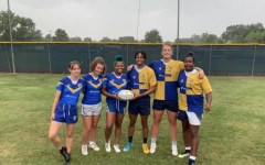 Pictured are members of both the mens and womens 2021 rugby teams.