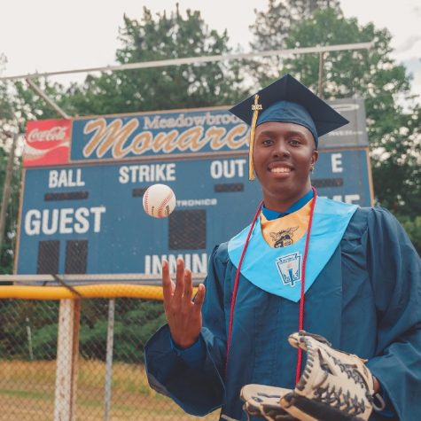 Freshman Khadeem Lewis is on the E&H baseball team and is adjusting to college life during his first year on campus.