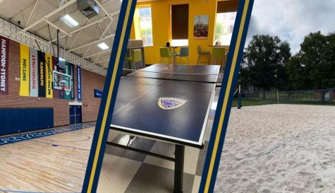 Basketball, ping pong, and sand volleyball are a few of the many intramural activities happening on the E&H campus this fall.