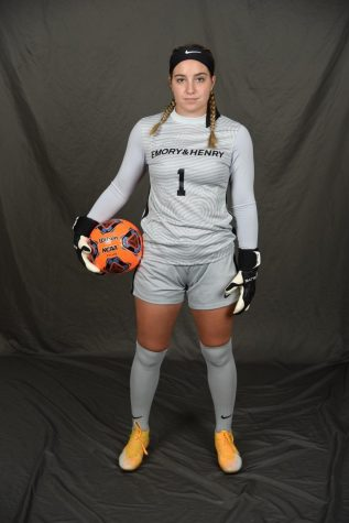 Natalie Capone, a team captain for the E&H Womens Soccer Team, is excited for the new season and shares her thoughts on becoming a Division II team.