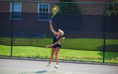 Holt is a third-year tennis player who has experienced playing as both a DII and DIII player at E&H. She shares the excitement and challenges this change brings to her team.
