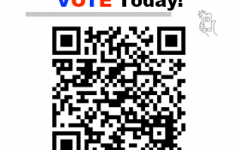 Use this QR code to get more information on voting registration and to register to vote today.
